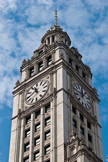 Tribune Clock Tower by marz808