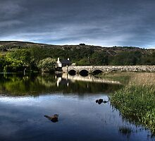 The old bridge over Llyn Padarn by Phill Jones