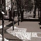 Park in Boston, MA by Kenneth Westling