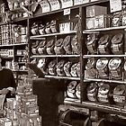 Boston Coffee Shop by Kenneth Westling