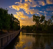 Sunset at  Central Park Joondalup Western Australia 03 by Reza2111
