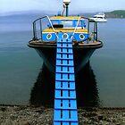 """Gorbach"" Pilot Boat at Popov Island. Vladivostok, Primorye, Russia 2009 by Igor Pozdnyakov"