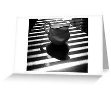 zebra bar Greeting Card