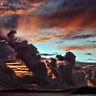 Fire in the Sky - St. Croix by Bob Webb