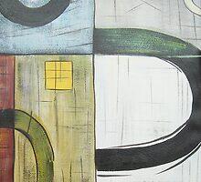 Light Abstract Acrylics on Canvas, HandPainting by diasha