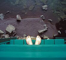 Feet Over Lake Superior - Minnesota by Kent DuFault