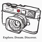 Leica M9 red dot rangefinder camera by leicadream