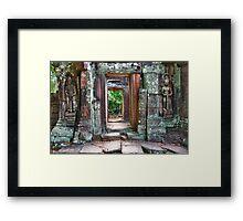 Banteay Kdei Framed Print