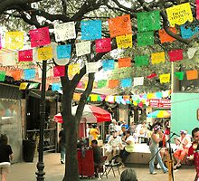 Cinco de Mayo Celebration at Market Square (El Mercado) in San Antonio by Susan Russell