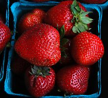 Strawberries by John Schneider