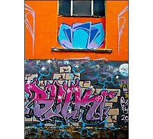 Orange Wall- Fitzroy Photographic Print