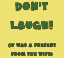 Give a laugh to your husband this Christmas by lightsmith