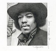 Hendrix by Nori Bucci
