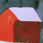 Red cottage by Catrin Stahl-Szarka