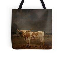 Texas Long Horn Tote Bag