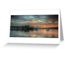 Serenity - Newport,Sydney - The HDR Experience Greeting Card