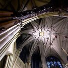 St Patrick Cathedral Ceiling, NYC USA by GJKImages