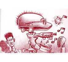 Lyle sees tunes! Photographic Print