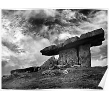 Poulnabrone Sky Poster