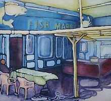 Fish Market by Nancy Marcelina Fernandez