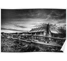 Craig's Hut, Mt Stirling Poster