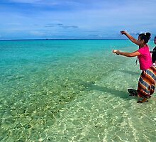 Fishing Session - Pohnpei, Micronesia by Alex Zuccarelli
