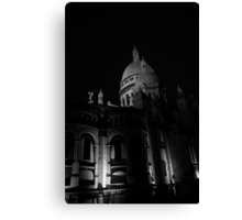 Sacre Coeur - a detail Canvas Print