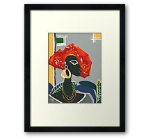 The Ambassador - Talking to US Framed Print