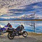 Tekapo B Headpond and Aoraki Mount Cook by Tony Burton