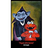 Dirk Strangely's MUPPET'S OF THE DAMNED Photographic Print