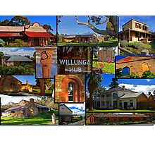 Willunga houses and community Photographic Print