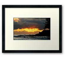 VISION HOUR Framed Print
