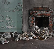 Abandoned Detroit 2 (The Chimney) by Amber Williams