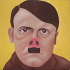 Hitler pig by discopig