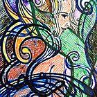 Abstract Mermaid #1 by Ivana Redwine