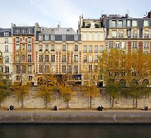 Four Couples on the Seine by berndt2