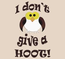 I don't give a hoot! by red addiction