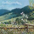 Carpathian hills by Vera Kalinovska