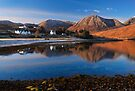 Luib Reflected in Loch Ainort.. Isle of Skye. Scotland. by photosecosse /barbara jones