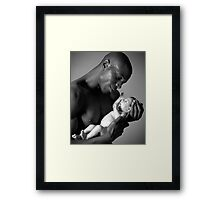 Cris and Jimmy Framed Print