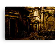 Catacombs at Highgate Cemetery (West) Canvas Print