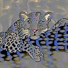 Pop art leopard 3 (all styles animals series) by Marilyns