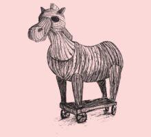 Wooden Horse by MrLone