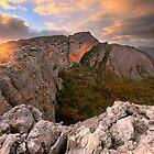 Mt Stapylton, Grampians, Victoria, Australia by Michael Boniwell