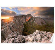 Mt Stapylton, Grampians, Victoria, Australia Poster