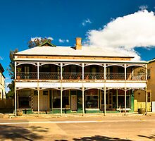 South Australia - Quorn - Criterion Hotel by Geoffrey Thomas