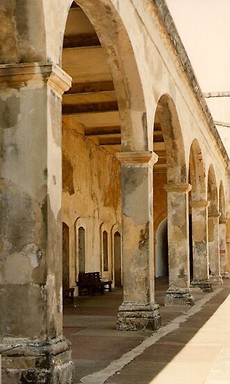 At Fort San Cristobal - Film by AuntDot