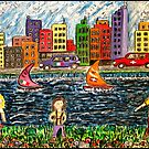 The River Race by Monica Engeler