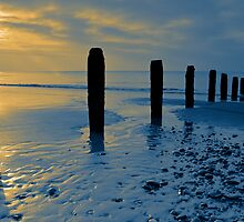 Cleveleys Beach  by David Bradbury