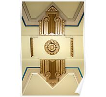 art deco ceiling Poster